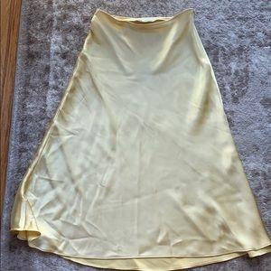 Zara Yellow midi dress